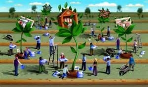economic gardening graphic