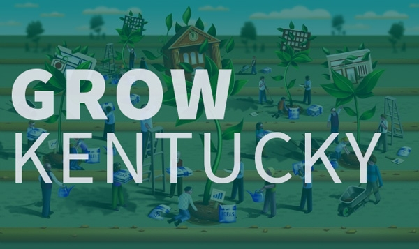 Grow Kentucky graphic