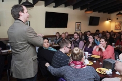 State Rep. Jonathan Shell, R-Lancaster, tells the Richmond Young Professionals A