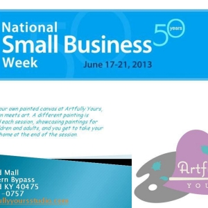 National Small Business Week client focus Artfully Yours