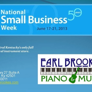 National Small Business Week client focus Brooke's Piano & Music