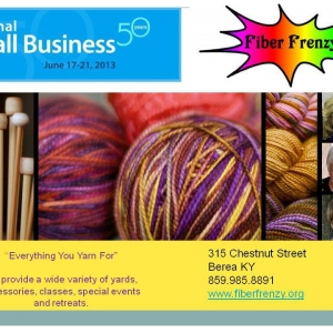 National Small Business Week client focus Fiber Frenzy