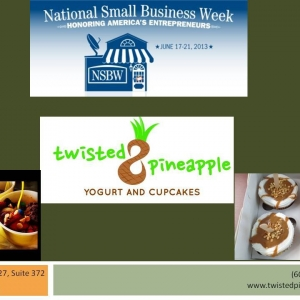National Small Business Week client focus Twisted Pineapple